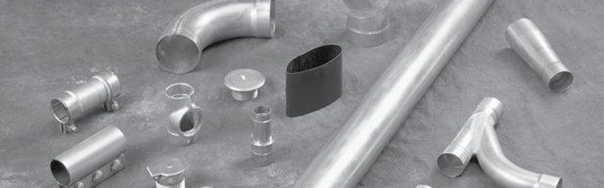 various vacuum tubing and fittings